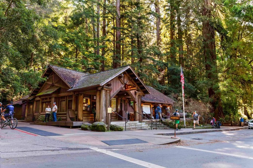 Big Basin Redwoods State Park Lodge
