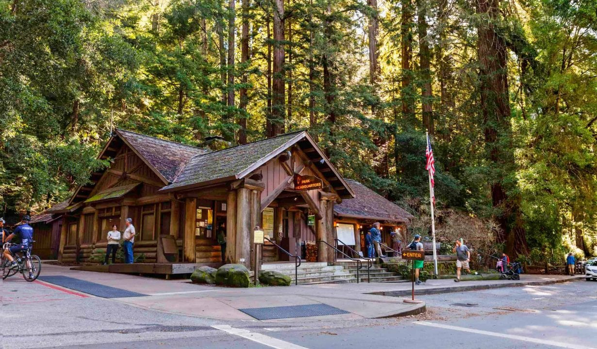 Lodge at Big Basin Redwoods State Park