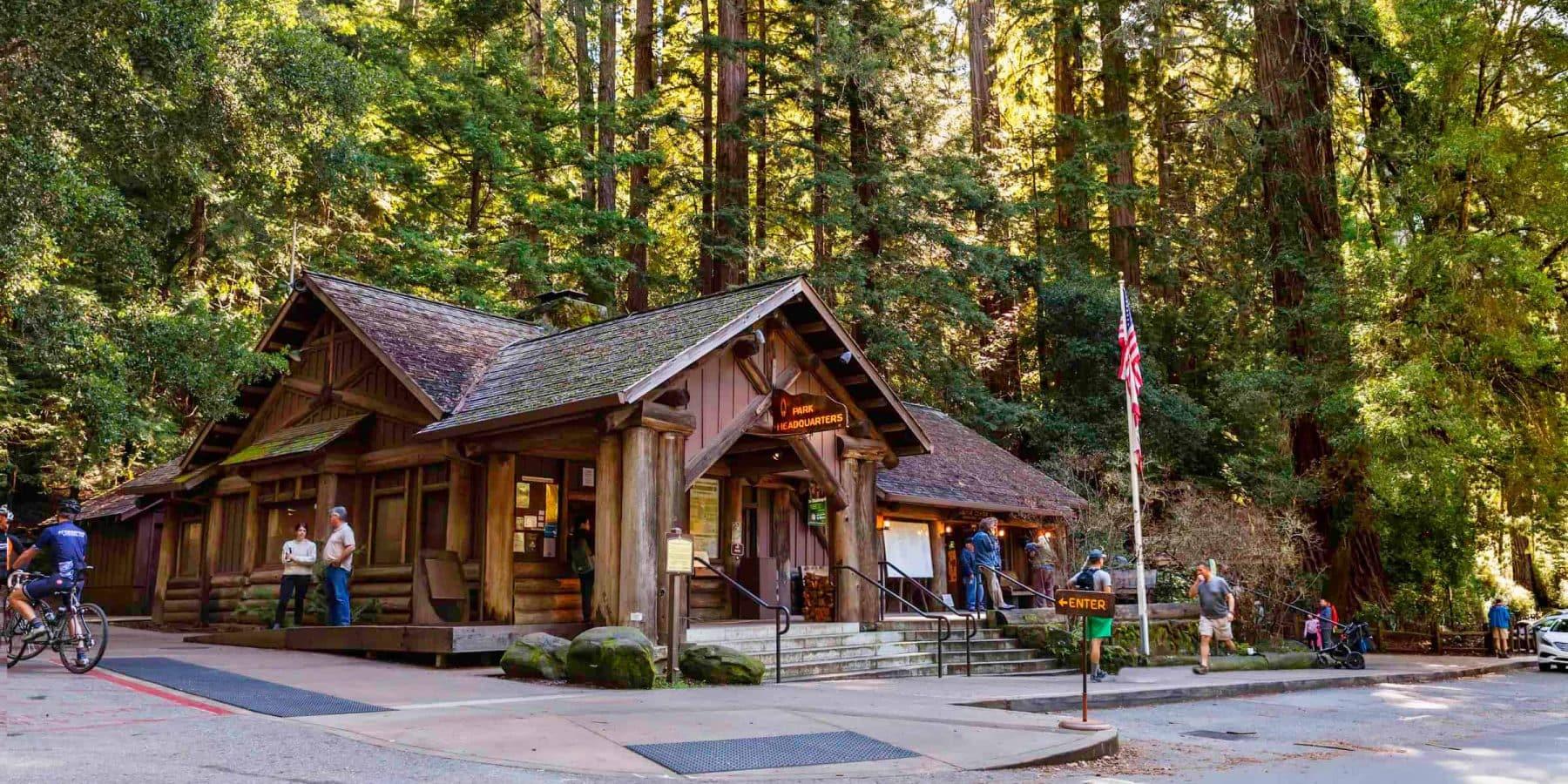 Lodge at Big Basin Redwoods State Park