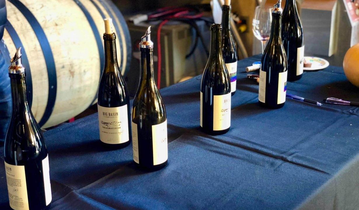 Big Basin Vineyards Bottles