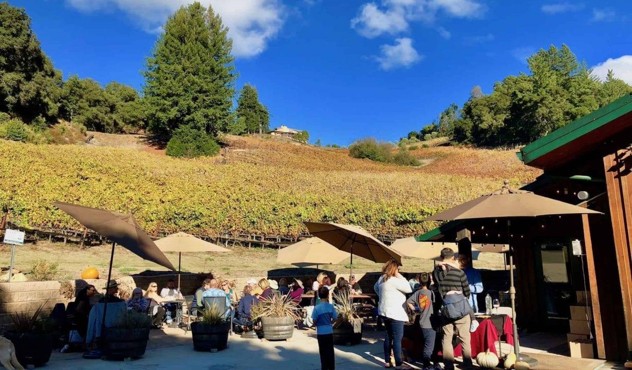 Big Basin Vineyards Patio