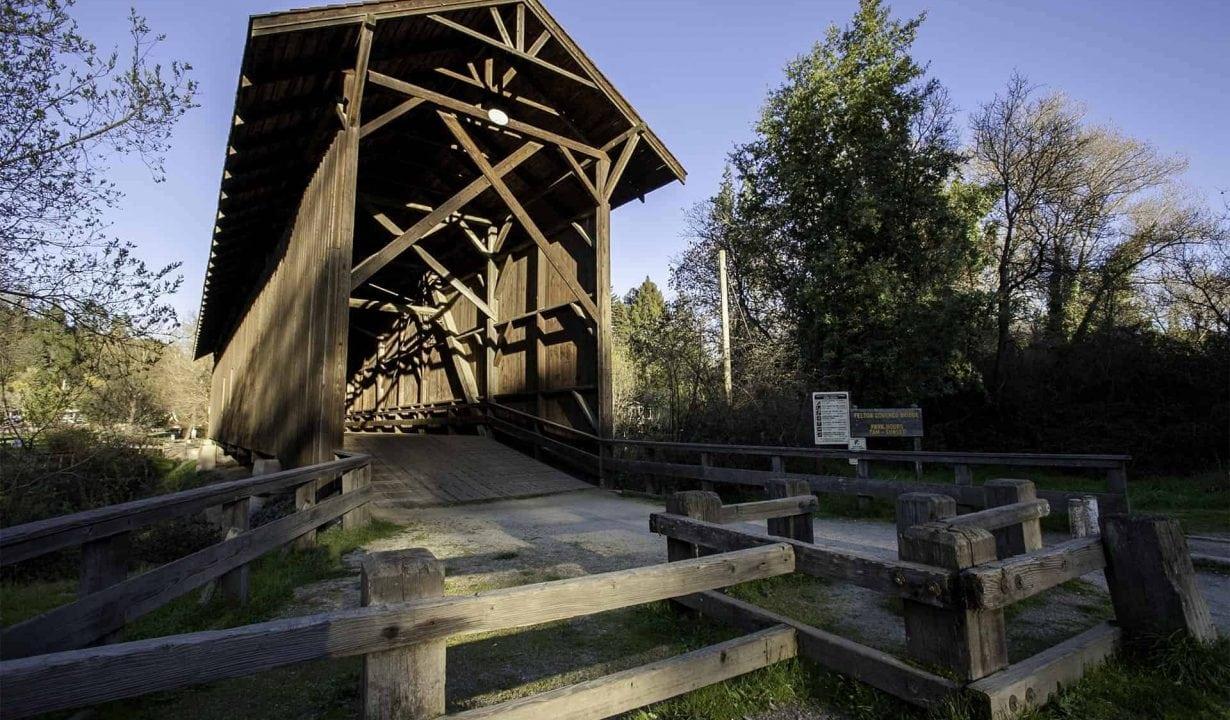 Felton Covered Bridge Outside