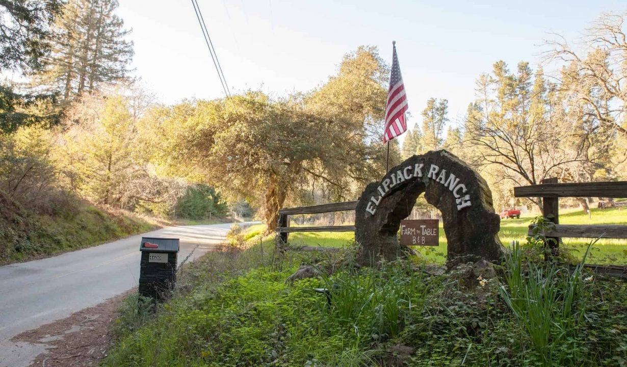 Flipjack Ranch Entrance