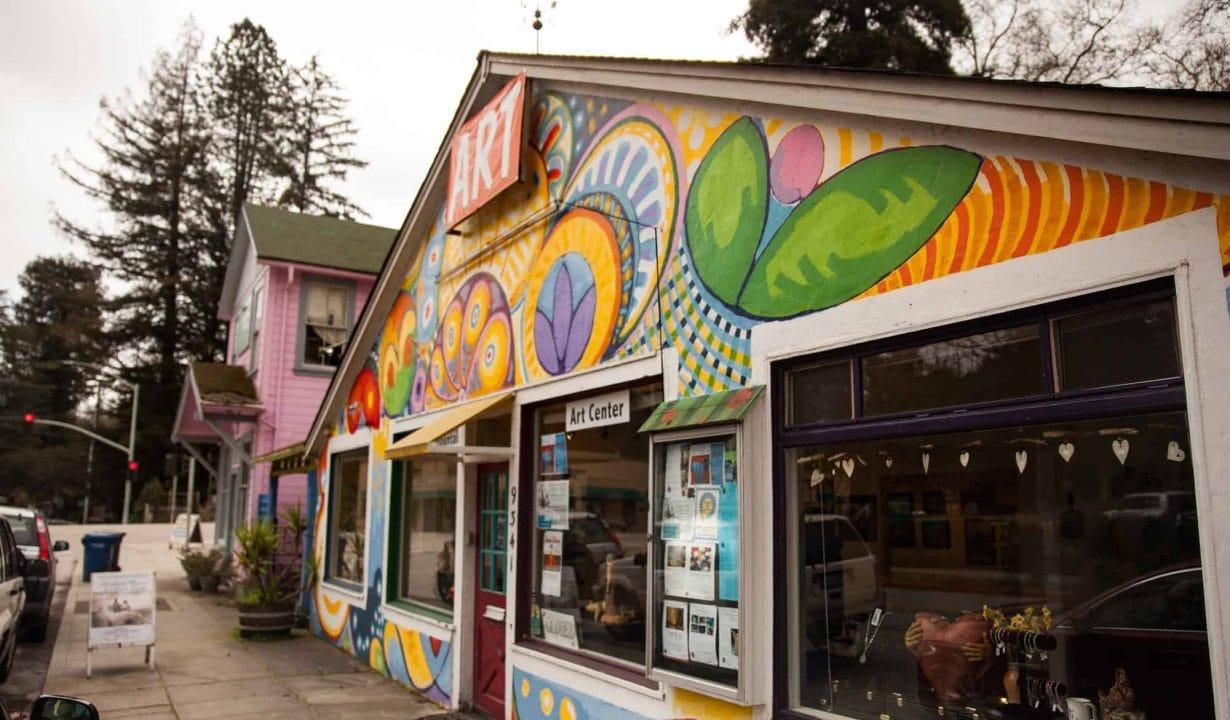 Santa Cruz Mountains Art Center