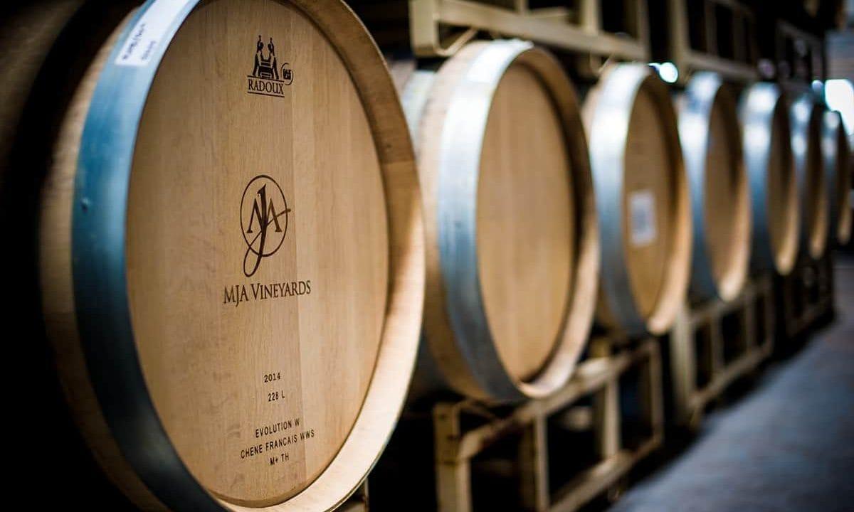 MJA Vineyards Barrels