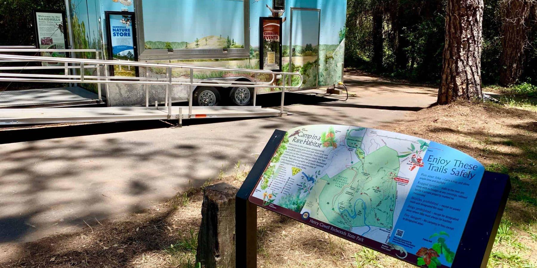 Sandhills Mobile Visitor Center at Henry Cowell