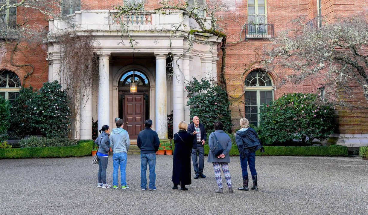 Filoli Front Entrance
