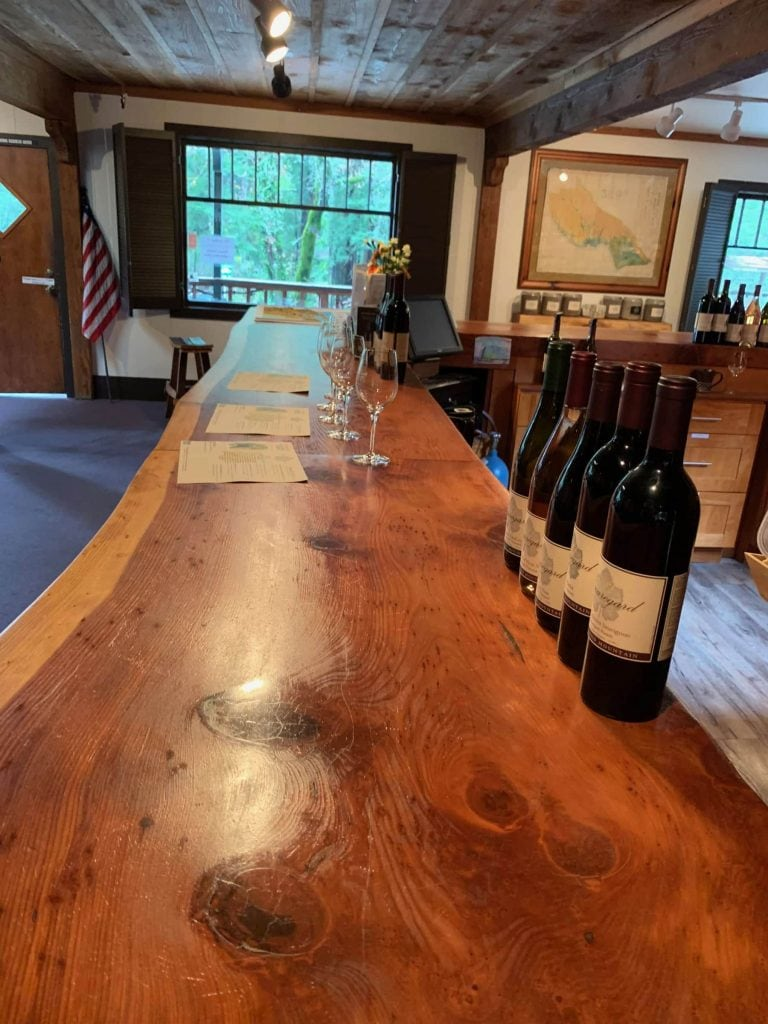 Beauregard Vineyards Tasting Room