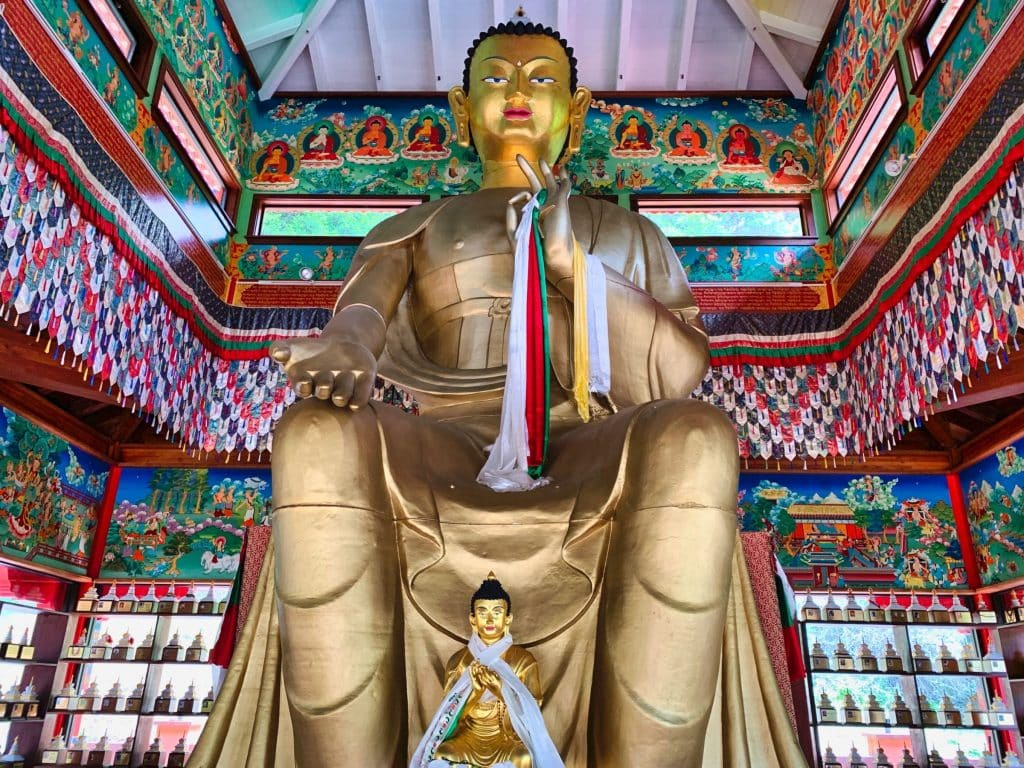 Land of Medicine Buddha Wish Fulfilling Temple