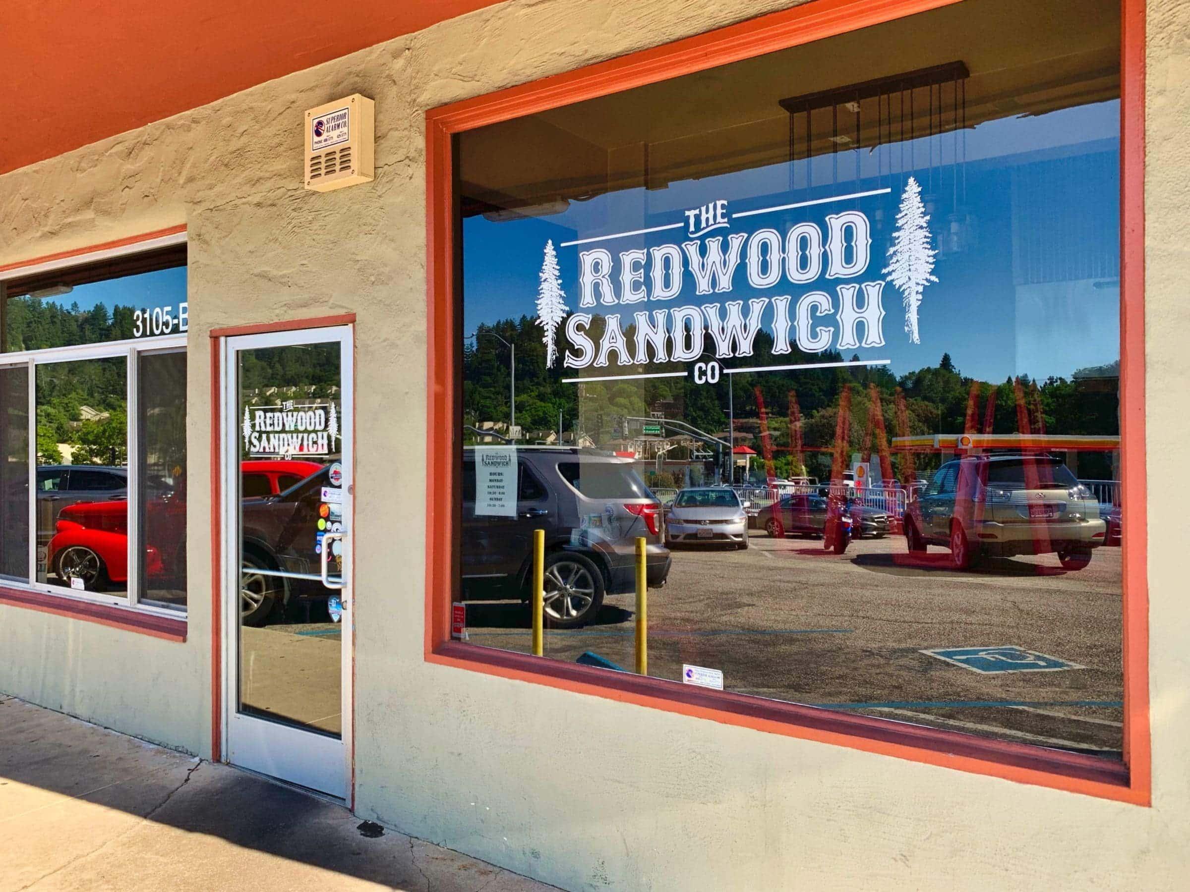 Redwood sandwich scotts valley