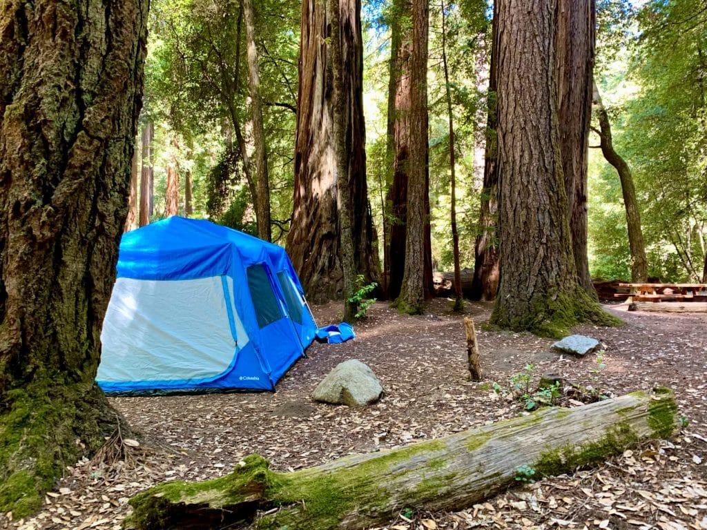 Sempervirens Campground at Big Basin