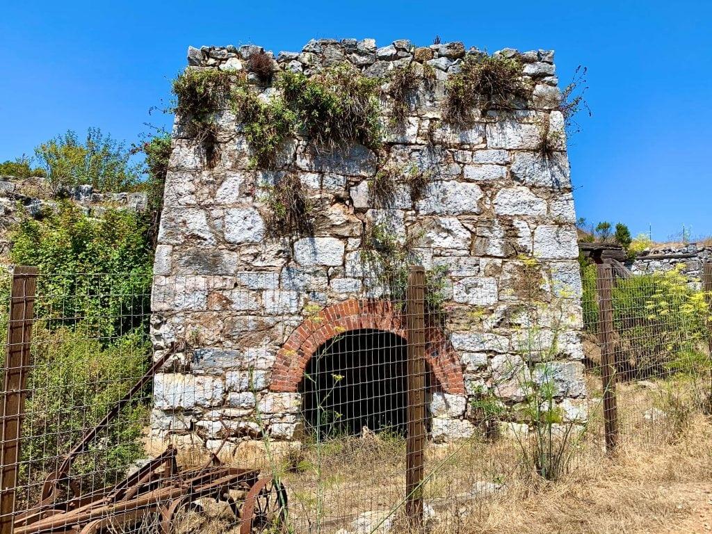 UCSC Abandoned Lime Kiln