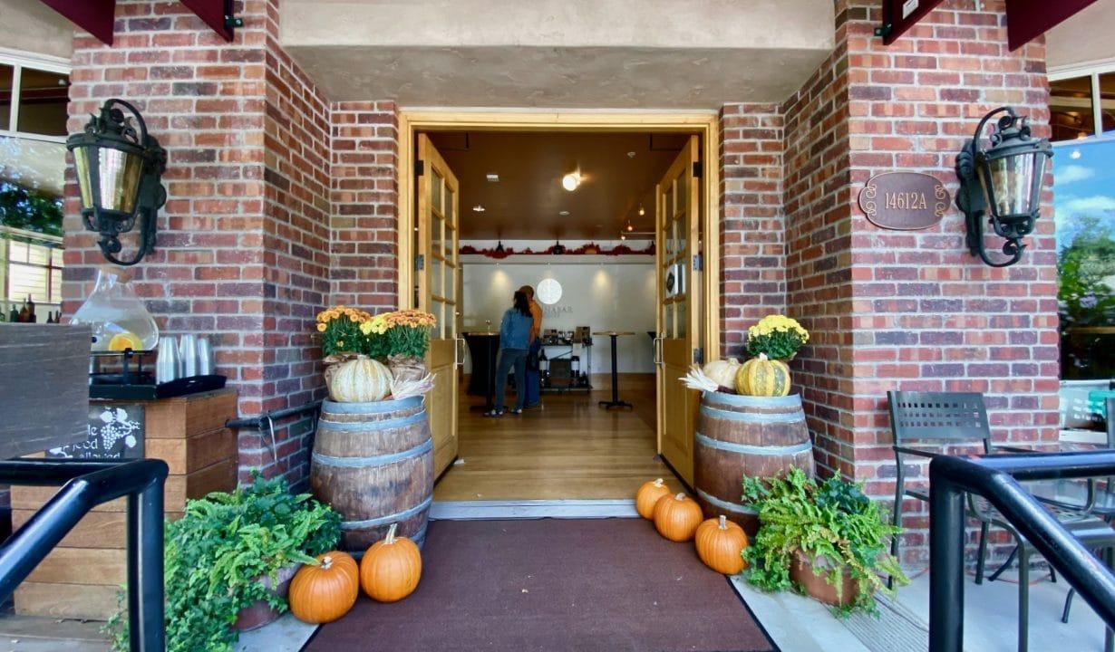 Cinnabar Winery Entrance
