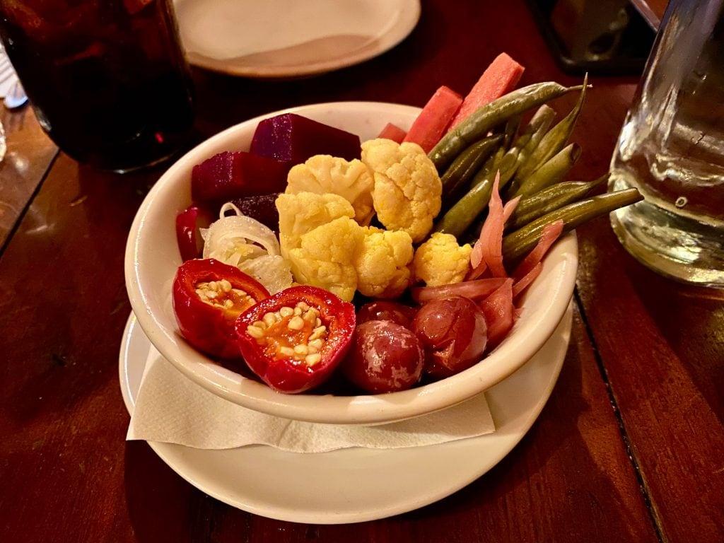 cremer house vegetables