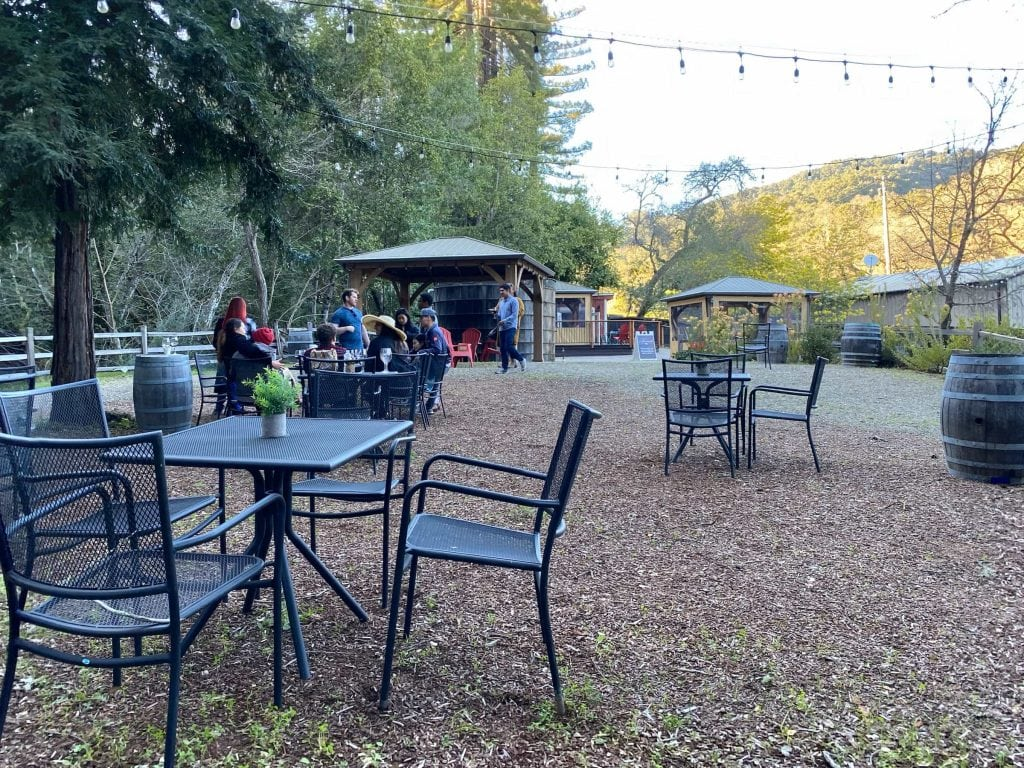 Fernwood Cellars Seating